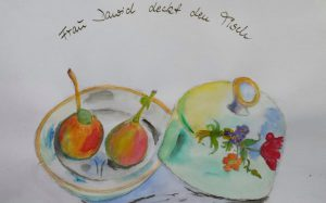 Frau Dawid deckt den Tisch - Vernissage @ kom!ma, Salzmannbau