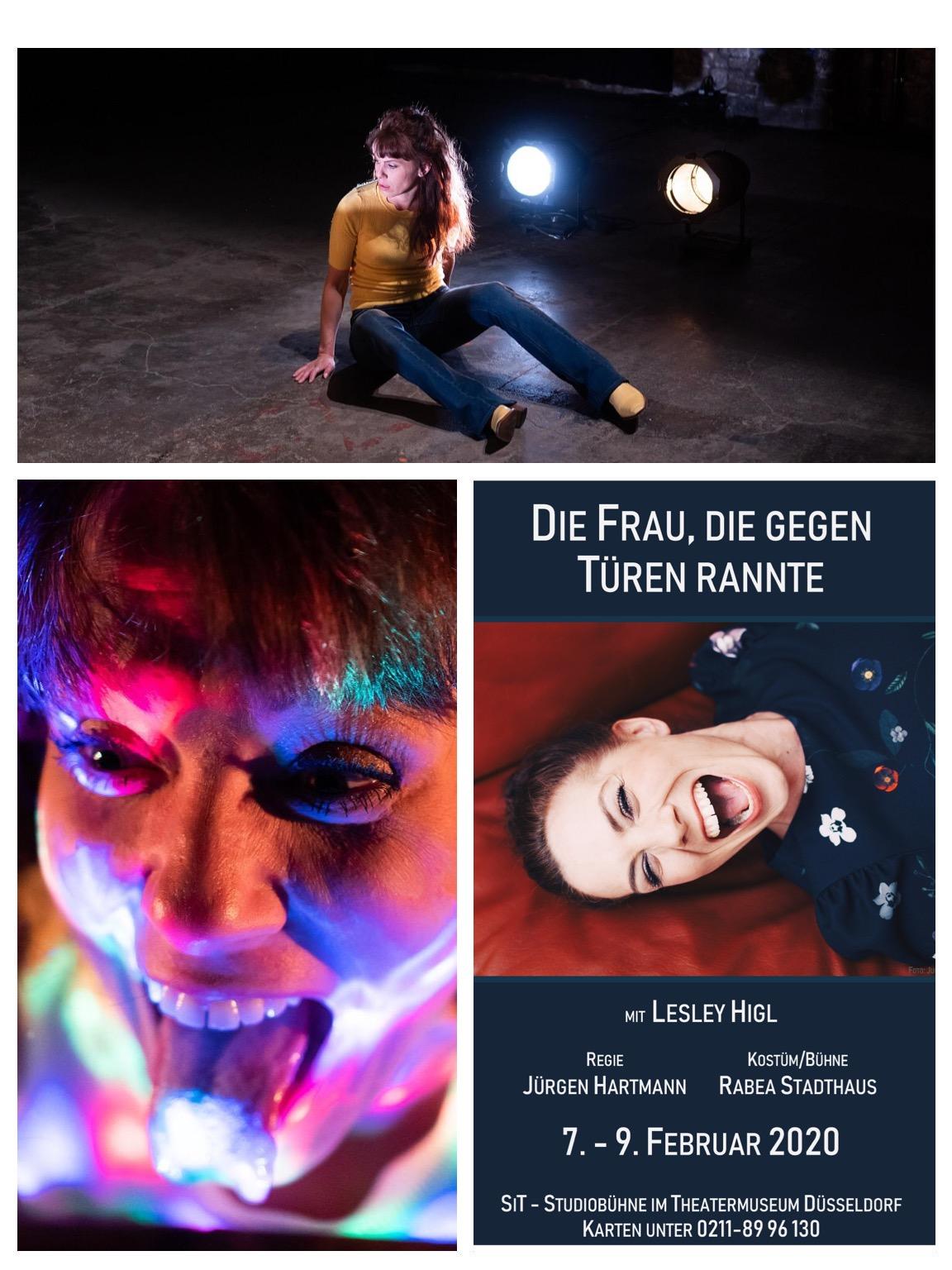 Die Frau, die gegen Türen rannte @ Theatermuseum Düsseldorf