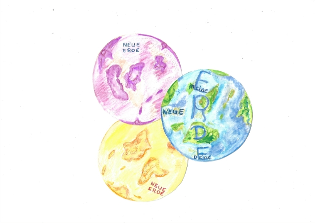Die neue Erde - Vernissage @ kom!ma, Salzmannbau, Raum 202